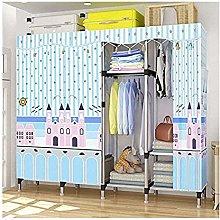 ZHENAO Baby Wardrobe Simple Wardrobe Assembled