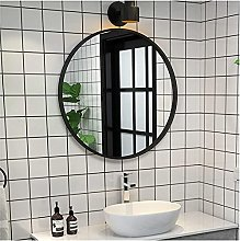 ZHENAO Bathroom Mirrors Wall Mounted Large | Round