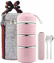 ZHENAO Bento Box for Kids Adults,with 3