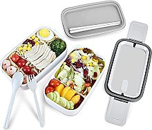 ZHENAO Bento Box, Stackable Meal Prep Container