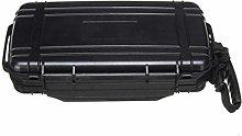 ZHENAO Black Cigars Storage 5 Cigar in Box with