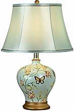zhenao Ceramic Table Lamp Modern Light Body Cloth