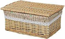 ZHENAO Child Candy Snacks Storage Basket Office