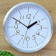ZHENAO Clock Mute Wall Fashion Creative 12-Inch
