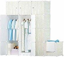 ZHENAO Closet Temporary Wardrobe for Hanging
