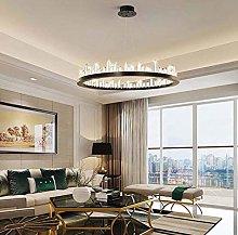 ZHENAO Crystal Chandelier Living Room Lamp Modern