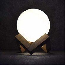 ZHENAO Desk Lamp Led Luner Light Table Lamp USB