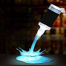 ZHENAO Desk Lamp Led USB Rechargeable 3D Led Night