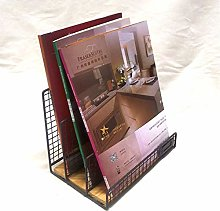 ZHENAO Desktop Bookshelf Storage Organiser Small