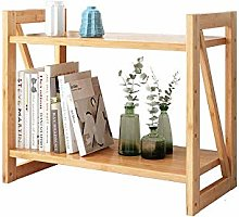 ZHENAO Desktop Organizer Stand Bookshelf Office