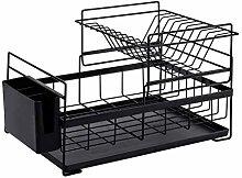 ZHENAO Dish Drainer, Kitchen Bowl Dish Drying Rack