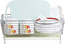 ZHENAO Dish Rack Stainless Steel Cabinet Storage