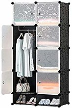 ZHENAO DIY Modular Storage Portable Hanger Closet