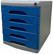 ZHENAO Drawer Set File Cabinet Desktop Five-Layer