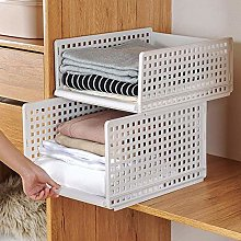 ZHENAO Folding Wardrobe Storage Cabinet ,Kitchen