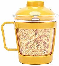 ZHENAO Glass Lunch Box, Instant Noodle Box with