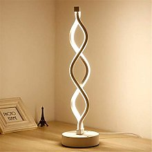 ZHENAO Led Desk Lamp Living Room Bedroom Curved
