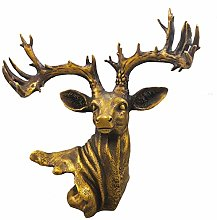 ZHENAO Living Room Decoration Deer Head Decoration