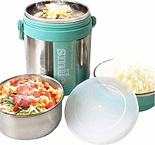 ZHENAO Lunch Box Stainless Steel Insulated Flask,