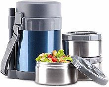 ZHENAO Lunch Box Stainless Steel Leakproof