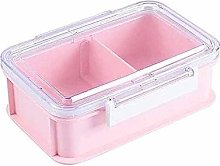 ZHENAO Lunch Box with Lid, Leak-Proof Single-Layer