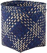 ZHENAO Natural Seaweed Storage Basket Laundry