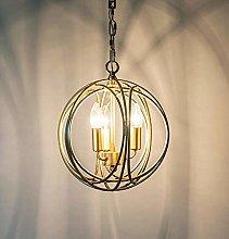 ZHENAO Pendant Light Chandelier Vintage Retro
