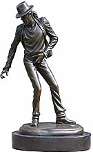 ZHENAO Sculpture Decoration Michael Jackson