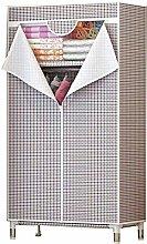ZHENAO Single Wardrobe Wardrobes for Bedroom Cloth