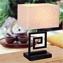 ZHENAO Solid Wood Desk Lamps Creative Eye-Caring