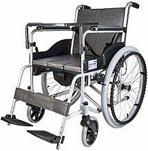 ZHENAO Wheelchair, Aluminum Alloy Wheelchair