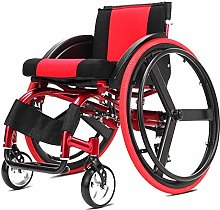 ZHENAO Wheelchair Folding Portable with Quick