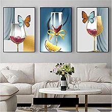 zhengchen Print on Canvas Abstract Colorful