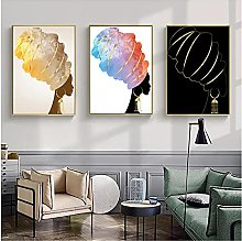 zhengchen Print on Canvas African Sexy Woman With