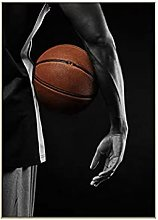 zhengchen Print on Canvas Basketball Paintings for