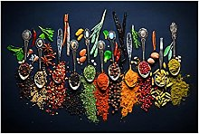 zhengchen Print on Canvas Herbs and Spices for