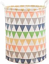 ZhengYue Colorful Triangle Lattice Pattern Laundry