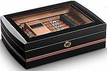 ZhenHe Cigar Box, Cigar Humidor, Cedar Wood