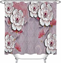 zhenshang Abstract brocade shower curtain with