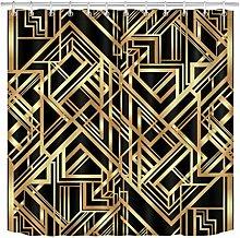 zhenshang Abstract golden geometric pattern shower