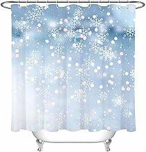 zhenshang Christmas abstract snowflake shower