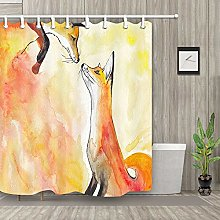 zhenshang Orange fox couple wear-resistant