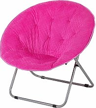 ZHEYANG Chairs Reading Chair Folding Chair Moon