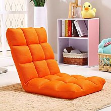 ZHEYANG Chairs Reading Chair Lazy Couch Foldable