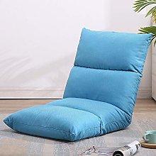 ZHEYANG Chairs Reading Chair Lazy Sofa Bed Folding
