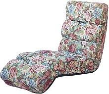 ZHEYANG Chairs Reading Chair Lazy Sofa, Folding