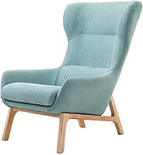 ZHEYANG Chairs Reading Chair Lazy Sofa, Solid Wood