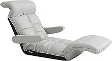 ZHEYANG Chairs Reading Chair Single Lazy Sofa PU