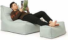 ZHEYANG Chairs Reading Chair Sofa + Ankle