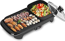 ZHEYANG Grill Indoor Hot Pot Multifunctional